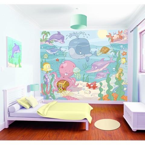 Walltastic  A tenger világa bébi poszter 40625