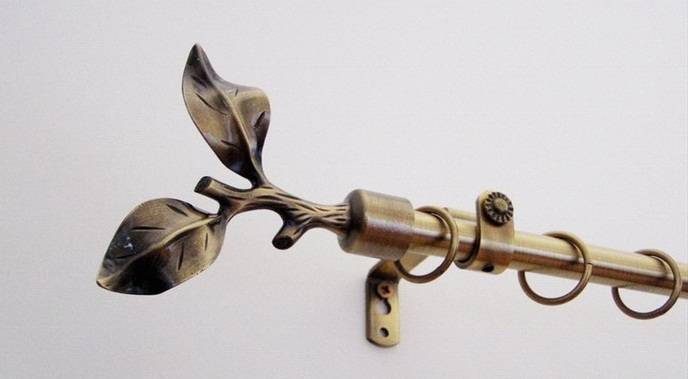 Landhouse karnisgarnitúra 16mm  5. Faág véggel