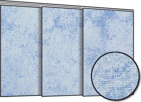 Lapfüggöny panelkarnishoz világoskék színben