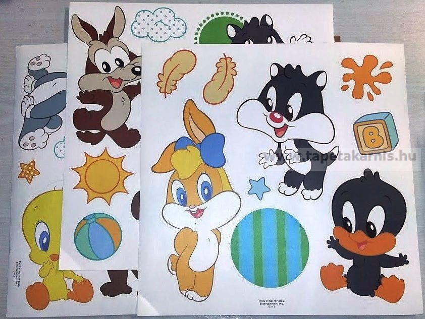 Baby Looney Tunes Csőrika falmatrica