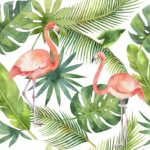 Greenery poszter Flamingo I.  11661-2.