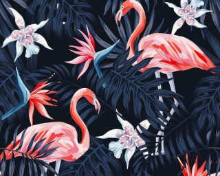 Greenery poszter Flamingo II.  11661-3.