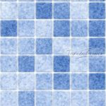Kék csempemintás öntapadós tapéta 13-4555.