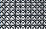 Venilia ANDY BLACK 13466. fekete geometria