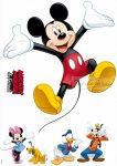 Mickey egér falmatrica 14017