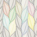 Színes levelek öntapadós fólia 14087