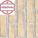 Bézs tégla mintás öntapadós tapéta 15-6465.