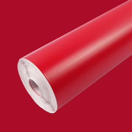 Matt piros öntapadós tapéta Signalrot 200-0108.