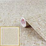 Szövött mintás öntapadós tapéta Textilgewebe braun  200-2162.