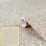 Szövött mintás öntapadós tapéta Textilgewebe braun  200-2162