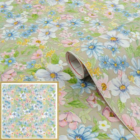 Virágmintás öntapadós tapéta Romantic 200-2403