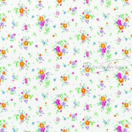 Virágmintás öntapadós tapéta Sunflor weiss 200-2494