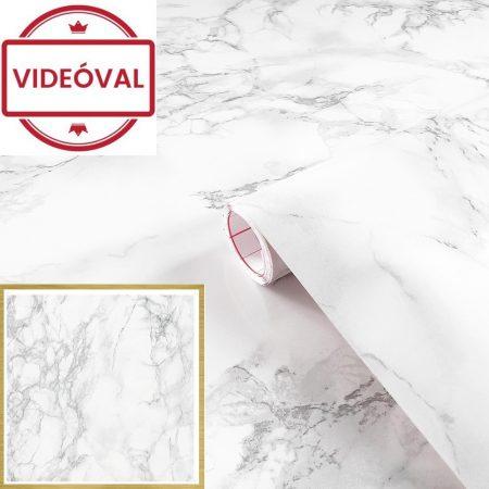 Öntapadós tapéta kőmintás Carrara grau 200-2614.