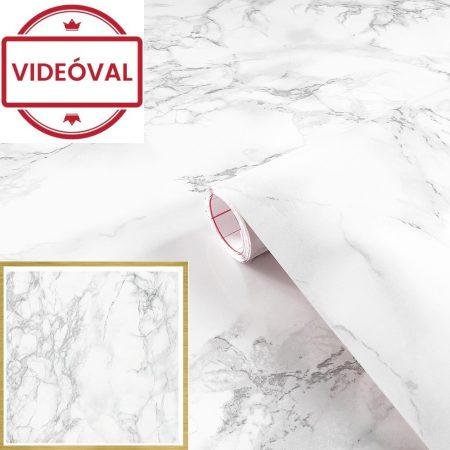 Öntapadós tapéta kőmintás Carrara grau 200-2614