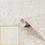 Szövött mintás öntapadó tapéta Textilgewebe natur 200-2850
