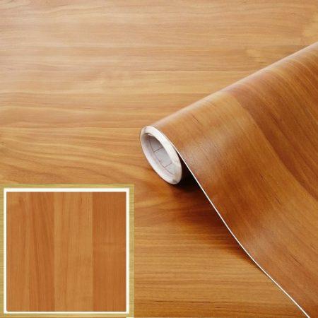 Faerezetű öntapadós tapéta, világos égerfa 200-2906.
