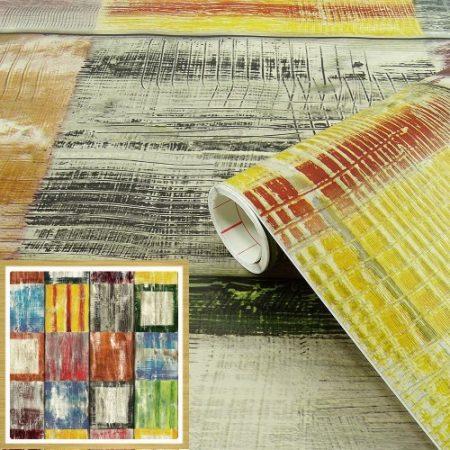 Öntapadós tapéta  Bahia, színes 200-3177.