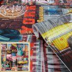 Színes amerikai mintás öntapadós tapéta Manhattan 200-3234. NYC TAXI