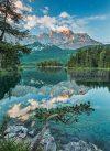 Tükröződő tó poszter 4537