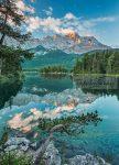 Tükröződő tó poszter 4537.