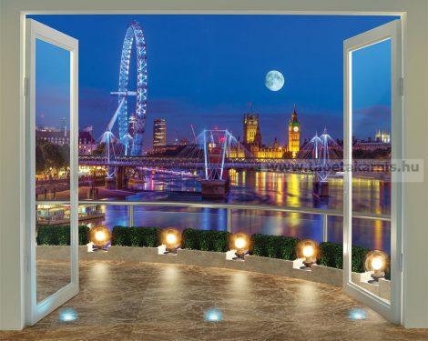 3D Walltastic  Londoni kilátás poszter 43596.