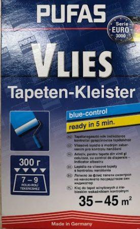 Tapéta ragasztó kék kontrollal vlies tapétákhoz, nagy doboz