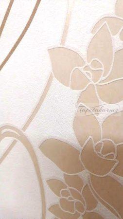 Olcsó, elegáns virágmintás tapéta 8790-2.