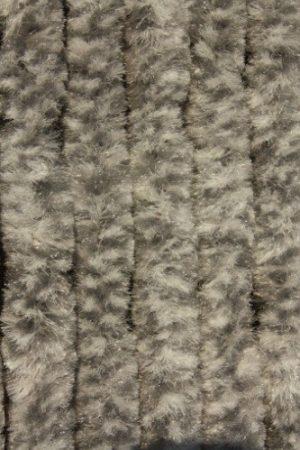 Bozont függöny 90x200cm szürke - fehér cirmos