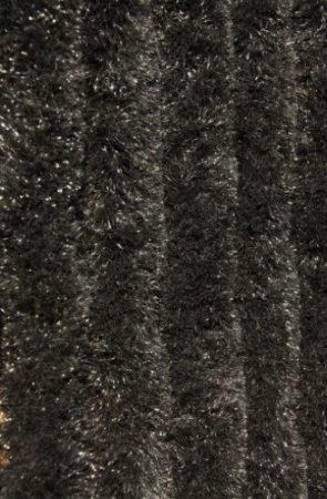 Bozont függöny 90x200cm fekete