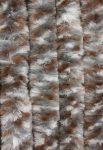 Bozont függöny barna/fehér/szürke cirmos