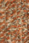 Bozont függöny 90x200cm fehér/szürke/narancs cirmos