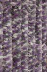 Bozont függöny 90x200cm fehér/szürke/lila cirmos
