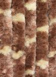 Bozont függöny 90x200cm barna, drapp csíkokkal