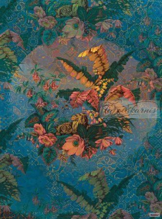 Heritage poszter Kék keleti ORIENT BLEU HX4-030.