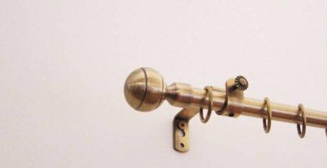 Landhouse karnisgarnitúra 16mm  6. Glóbusz véggel