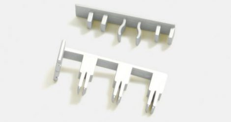 Végzáró 3 soros panelkarnishoz ( csúszkás)