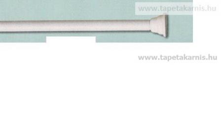 Zuhanyfüggönykarnis 160-300cm fehér